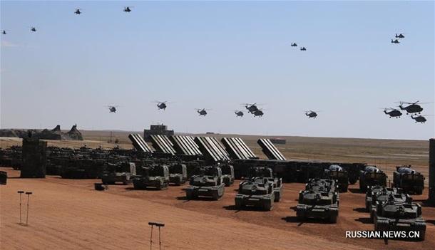 Китай на параде показал новое вооружение