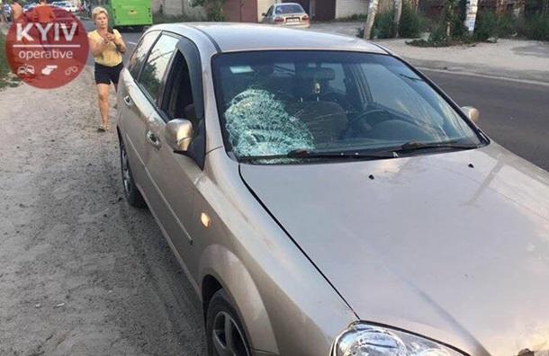 Катастрофа вКиеве: нетрезвый шофёр сбил двоих детей