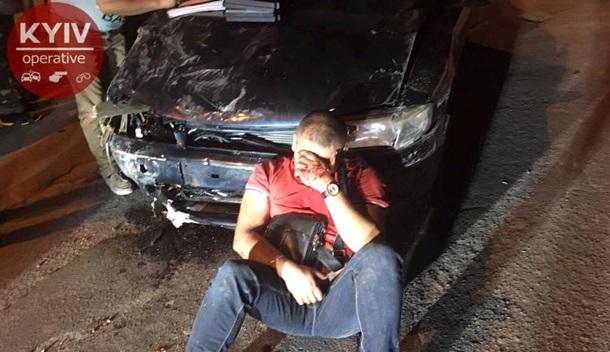 ВКиеве нетрезвый шофёр устроил 4 трагедии