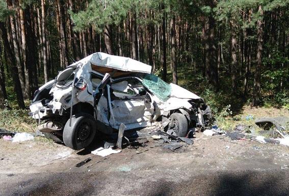 У Рівненській області вДТП загинули 5 людей