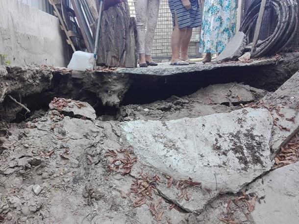 УКиєві наАндріївському узвозі стався обвал ґрунту через будівництво готелю
