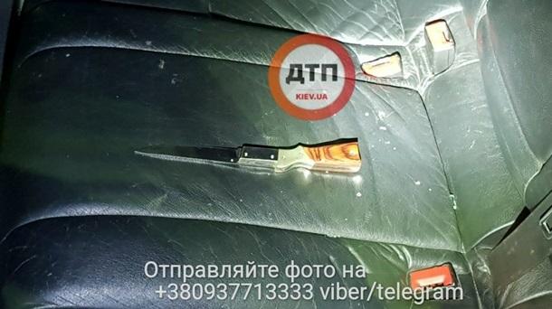 ВКиеве расстреляли автомобиль ипохитили человека