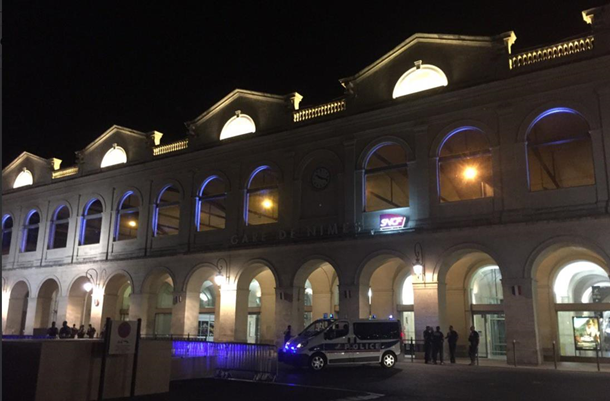 Во Франции срочно эвакуировали вокзал