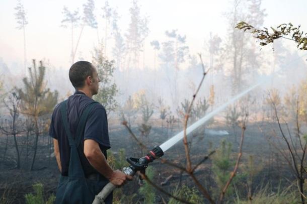 Около Броварского проспекта вКиеве 4 гектара травы полыхает,— ГСЧС