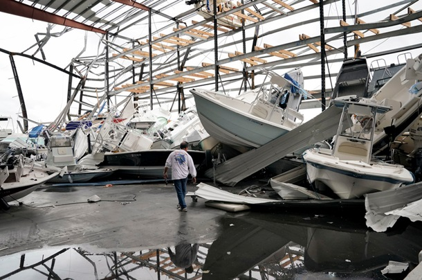В США выросло число жертв урагана Харви