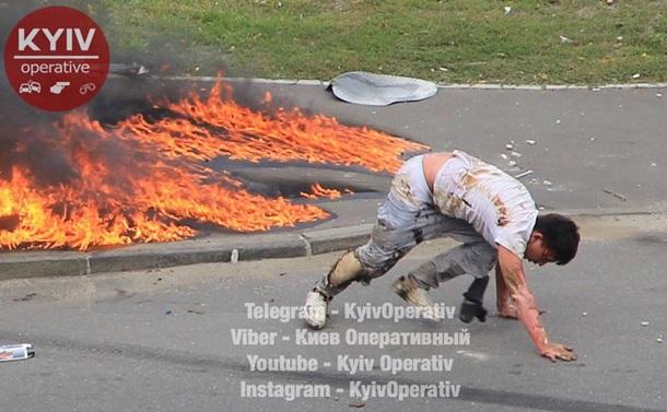 Появились детали взрыва авто напольских номерах вКиеве