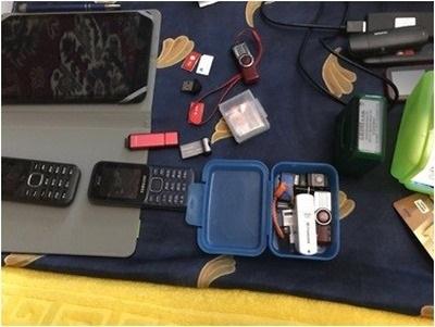 В СБУ показали затримання шпигунів у Харкові