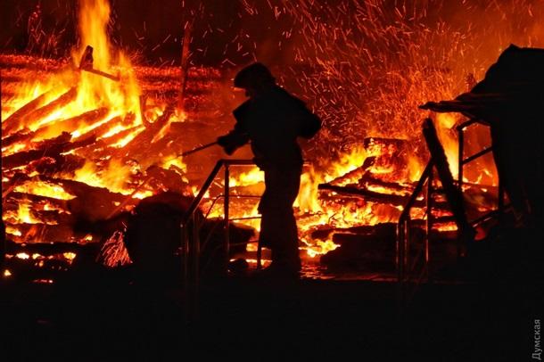 ВОдесі вмуніципальному дитячому таборі сталася пожежа: є постраждалі
