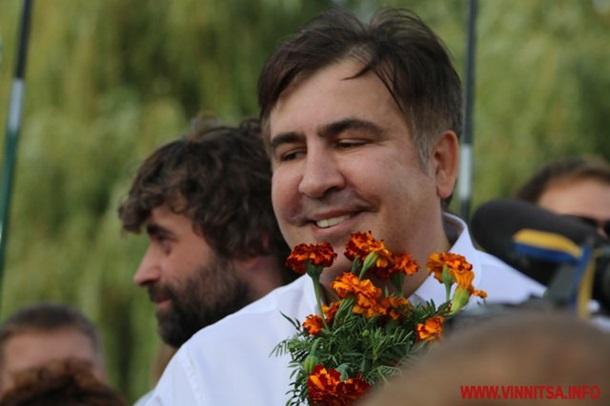 Саакашвили в Виннице: Новой революции не будет