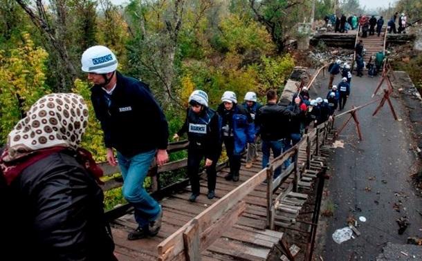 ОБСЕ бьет тревогу поповоду моста вСтанице Луганской