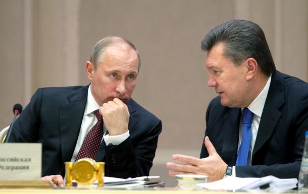 Путин в Сочи более пяти часов убеждал Януковича отказаться от евроинтеграции - Ъ