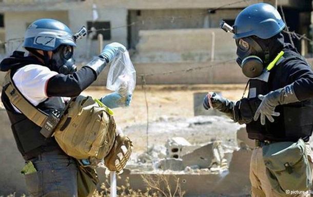 Сирия задекларировала 1300 тонн химических веществ