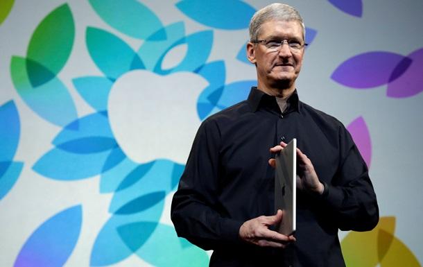 Глава Apple намекнул, что в течение месяца компания покажет новые  грандиозные  продукты