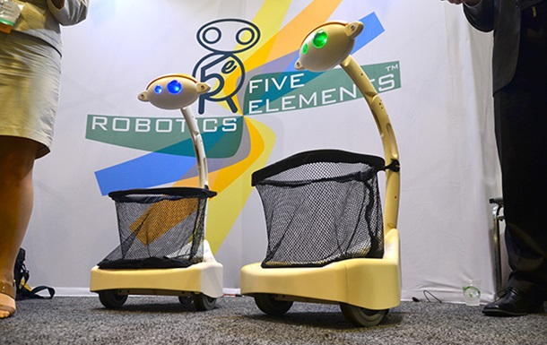 В США построили робота-носильщика