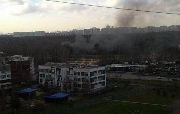 Падение вертолета в Москве: пилоты не катапультировались