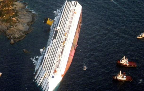 Суд по делу крушения Costa Concordia: Ранее лайнер проходил ближе разрешенного расстояния у острова Джильо