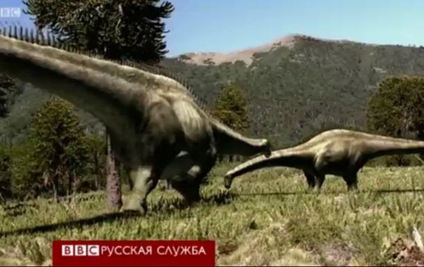 Как динозавры носили свой огромный вес - видео