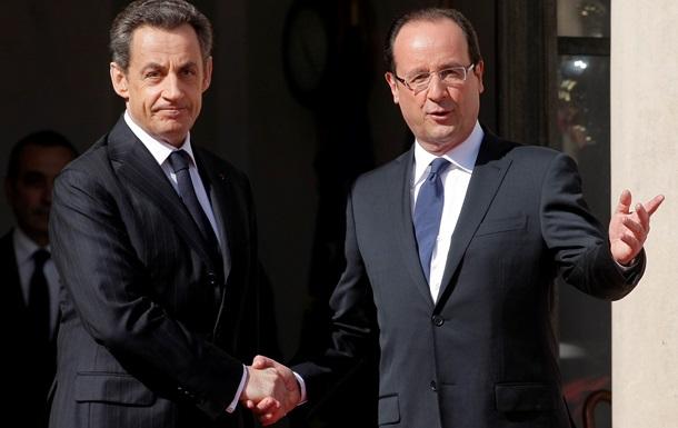 Президента Франции Франсуа Олланда заподозрили в сборе компромата на Саркози