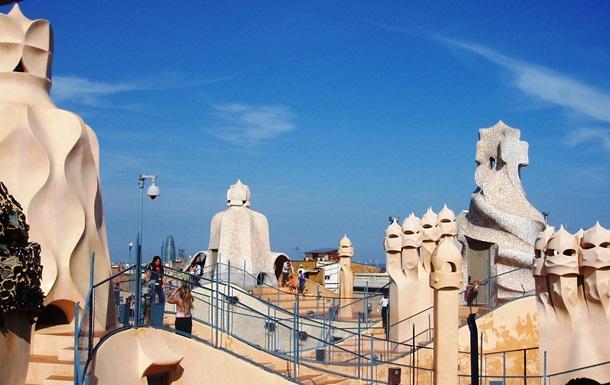 Барселона славится удивительной архитектурой Гауди