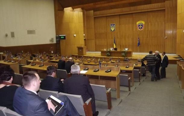 Тернопольскому облсовету понадобился год, чтобы избрать нового председателя