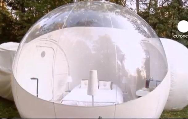 Французский отель с номерами-пузырями стал хитом среди туристов