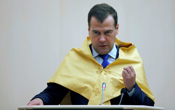 Медведев ищет волшебное средство для роста - Reuters