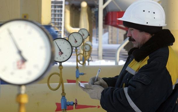 Украина в октябре резко сократила поставки газа из ЕС