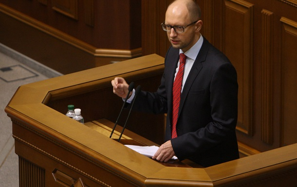 Оппозиция готова поддержать один из законопроектов о лечении Тимошенко - Яценюк