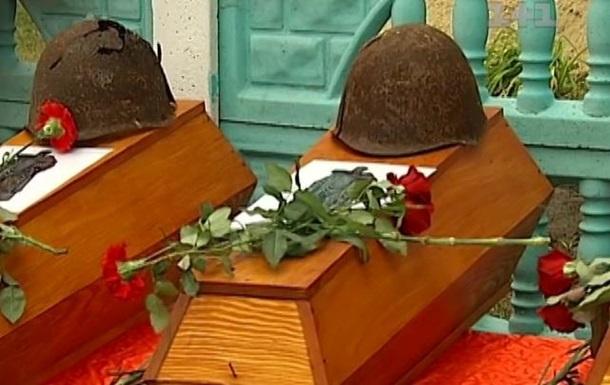 Под Киевом перезахоронили останки 55 советских солдат, погибших во время ВОВ