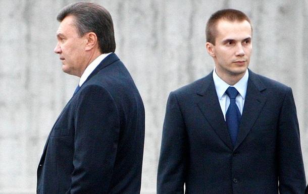 РГ: Сын Януковича стал самым  динамичным  бизнесменом Украины