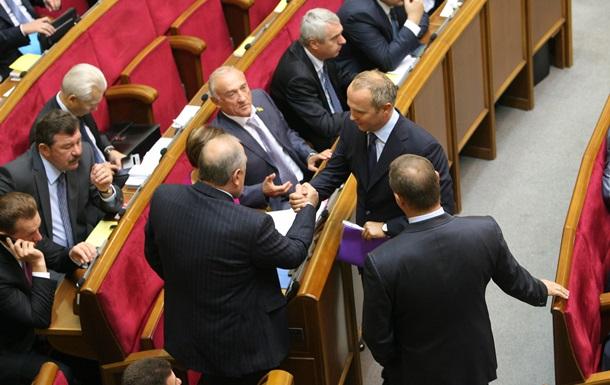 Регионалы не пришли на заседание комитета, который должен был рассмотреть законопроекты по Тимошенко