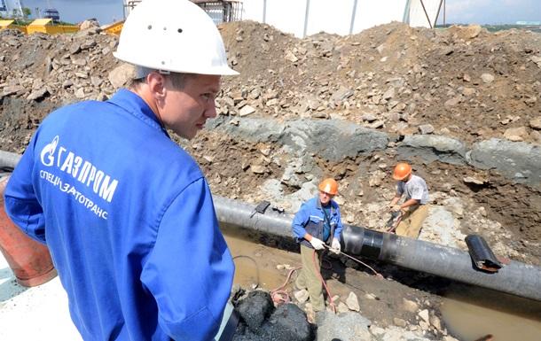 Газпром сетует, что пока вместо долга получил от Киева  слезы  - Reuters
