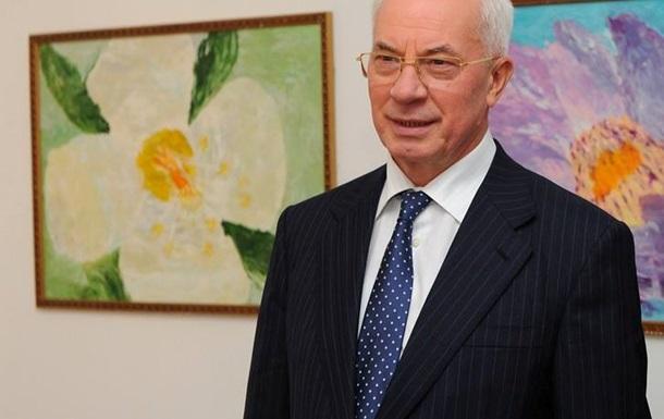 Азаров видит все основания для успешного подписания СА между Киевом и Брюсселем
