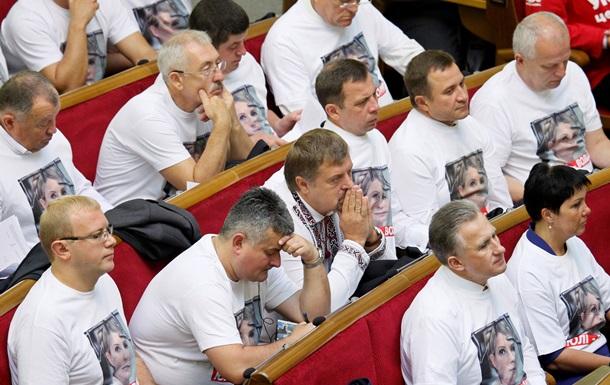 Фракция Батьківщина может изгнать еще нескольких депутатов - Ъ