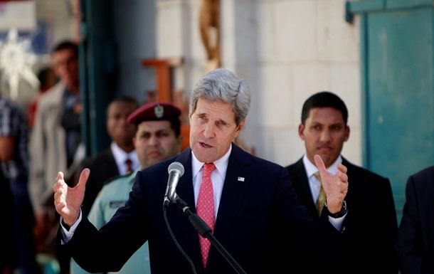 Госсекретарь США пообещал помочь палестино-израильским переговорам и выделить дополнительные $75 миллионов палестинцам