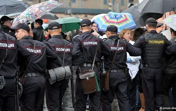 В Москве в ходе акции в поддержку  узников Болотной  задержали 20 человек