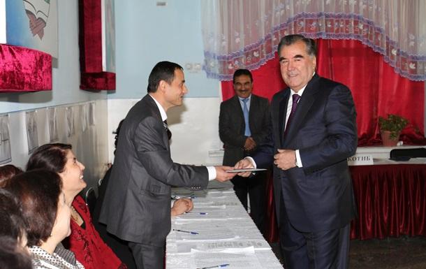 В последний срок. Рахмон переизбран президентом Таджикистана