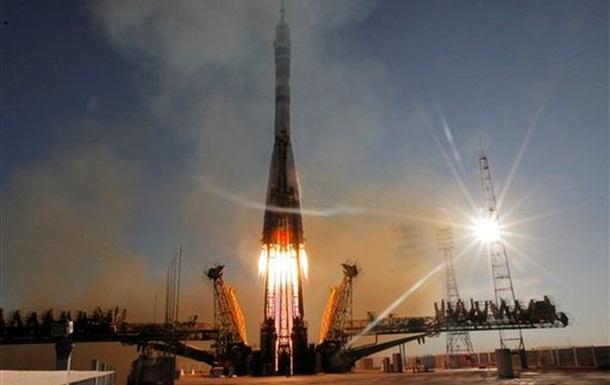 Космический корабль Союз с олимпийским факелом на борту отправился к МКС