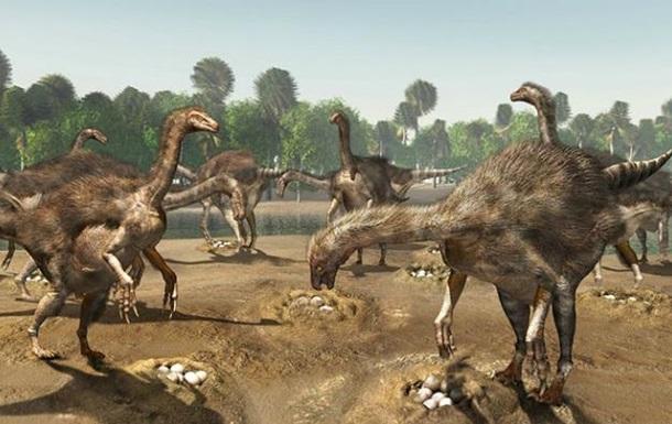 В пустыне Гоби обнаружили колонию теризинозавров