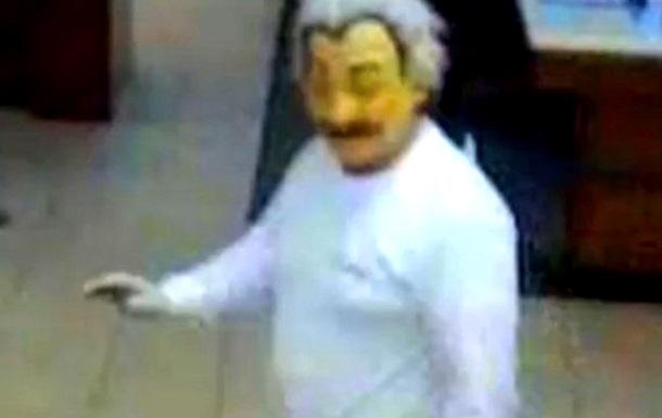 Во Флориде мужчина в маске Альберта Эйнштейна ограбил банк