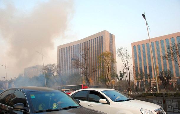 В Китае задержан подозреваемый в организации взрыва штаба Компартии