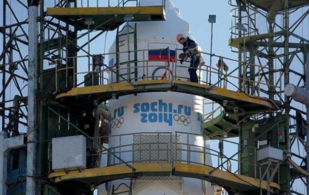 Полет олимпийского факела в космос за полторы минуты - Би-би-си
