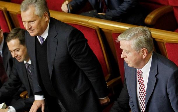 Кокс и Квасьневский вновь посетят Украину перед решающим отчетом в среду