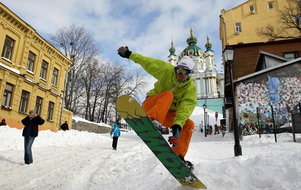 В Украину идут заморозки и снег