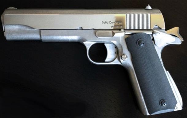 В США выпустили первый металлический пистолет, напечатанный на 3D-принтере