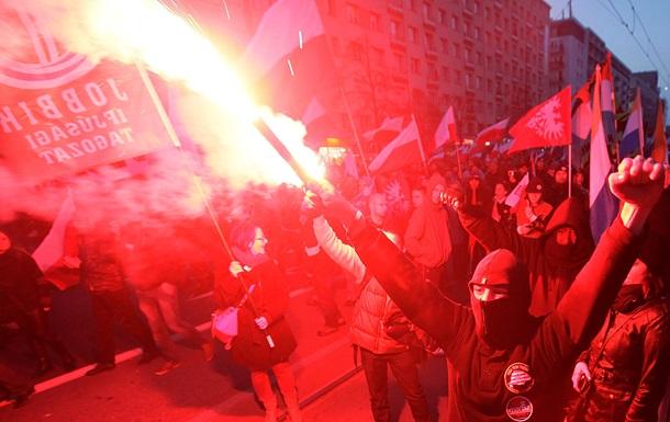 В День независимости Польши в Варшаве атаковали посольство России