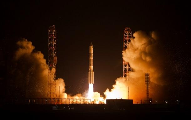 С космодрома Байконур стартовал Протон-М с военным спутником