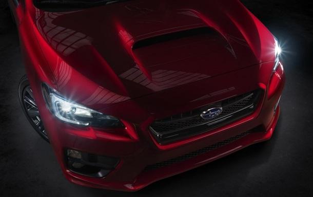 Subaru показала первую фотографию своего нового спорткара