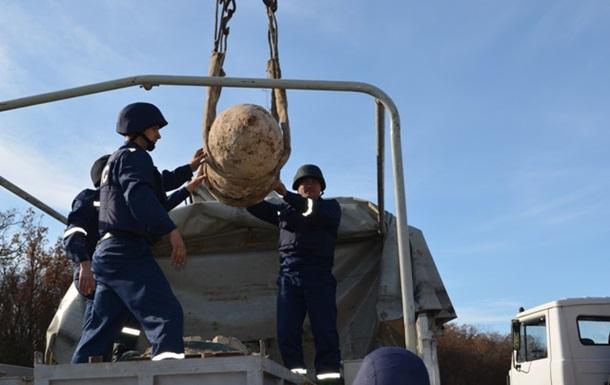 Новости Крыма - бомба - взрыв - В Севастополе уничтожили немецкую авиабомбу весом в тонну