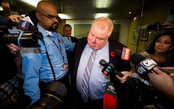 Мэр Торонто признался в покупке нелегальных наркотиков